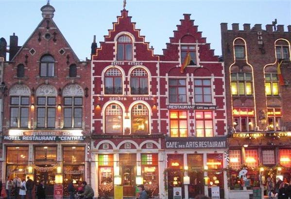 一度は行きたいベルギーの町並み